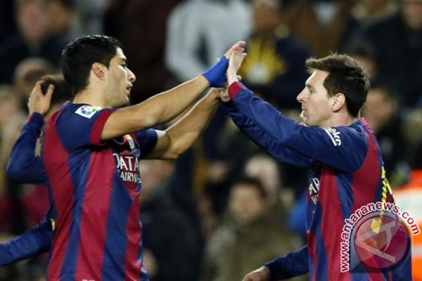 Barcelona tundukkan Eibar 2-0
