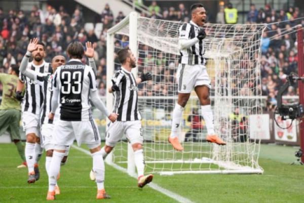 Juventus menangi derby Turin