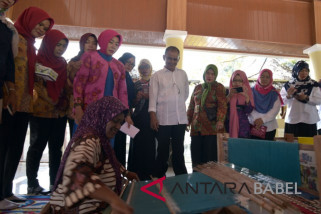 Dekranasda Bangka gelar pelatihan menenun