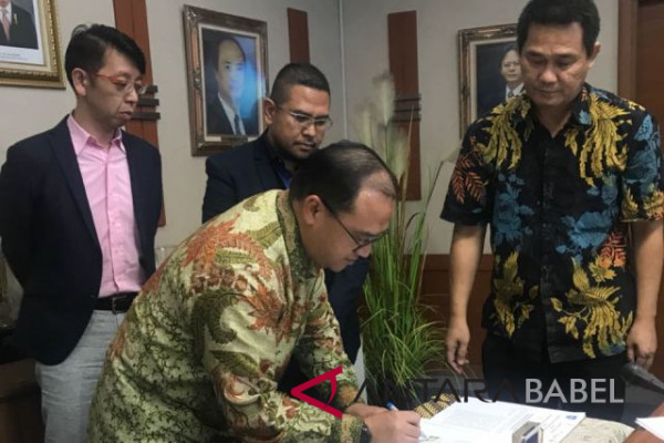 Bangka Belitung cooperates with PT. Indonesia Research Institute Japan