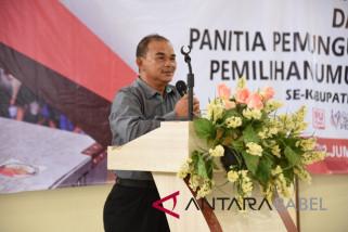 Plt Bupati Bangka larang pegawai tambah libur