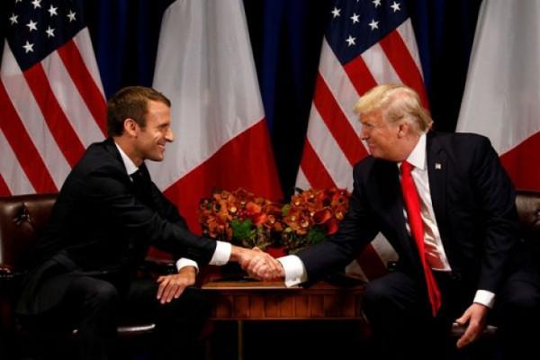 Presiden Prancis kunjungi AS untuk selamatkan perjanjian nuklir Iran