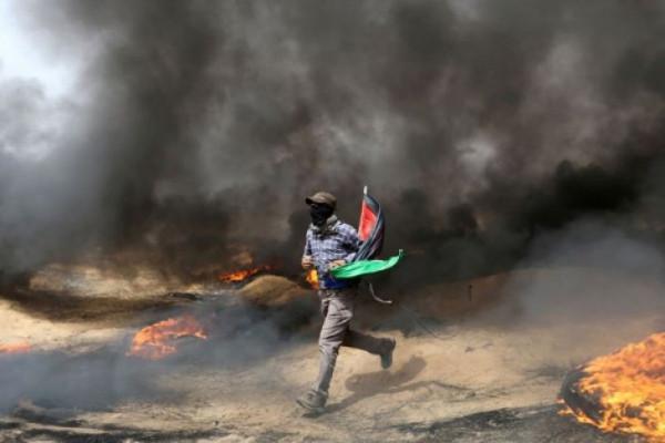 Israel kembali serang posisi Hamas di Jalur Gaza