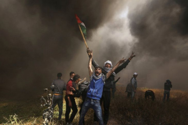109 pemrotes Palestina cedera akibat tembakan Israel