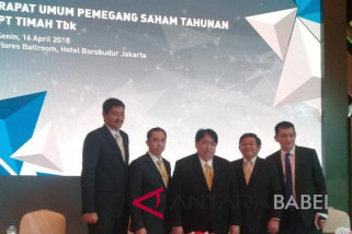 PT Timah net profit up 99 percent in 2017