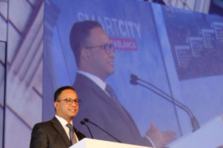 Anies Baswedan jadi pembicara pada Smart City Conference di Casablanca
