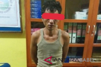 Polisi Bangka Barat amankan penjual sabu-sabu