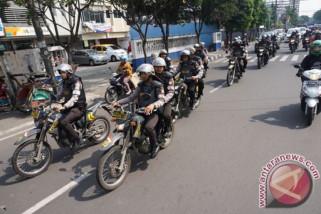 TNI dan Polri berpatroli tangkal terorisme