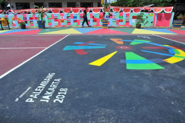Kampung Asian Games di Palembang
