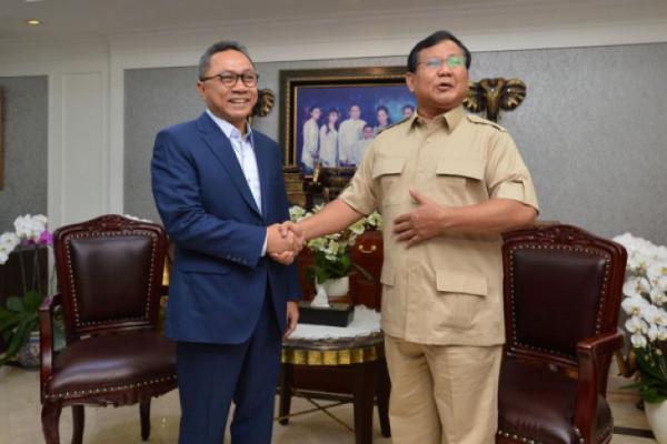 Prabowo bertemu Zulkifli Hasan