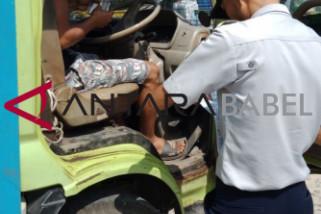 Diperkimhub Bangka Tengah cek kelaikan kendaraan umum