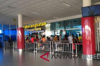 Jumlah penumpang di Bandara Depati Amir meningkat 1057 persen