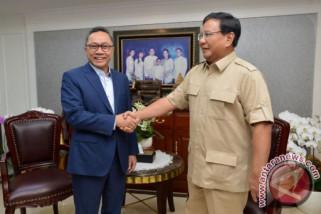 Prabowo-Zulkifli Hasan bertemu bahas pilkada