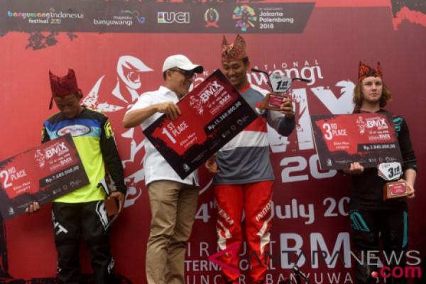 Final Putra BMX Banyuwangi Internasional