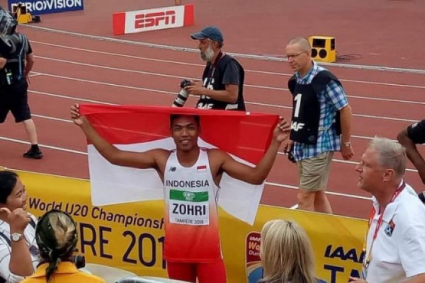 Presiden terima juara dunia lari Muhammad Zohri