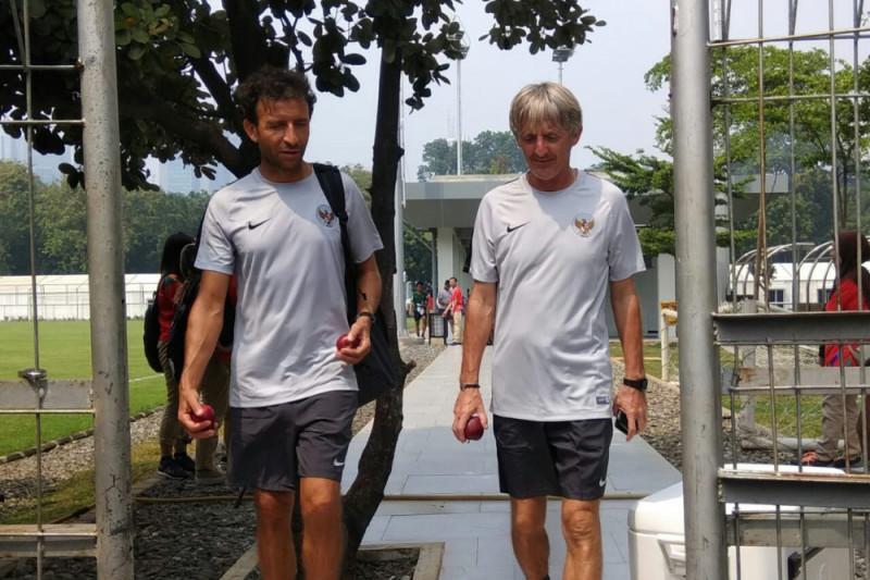 Sepak bola - Pelatih rotasi pemain timnas U-23 Indonesia