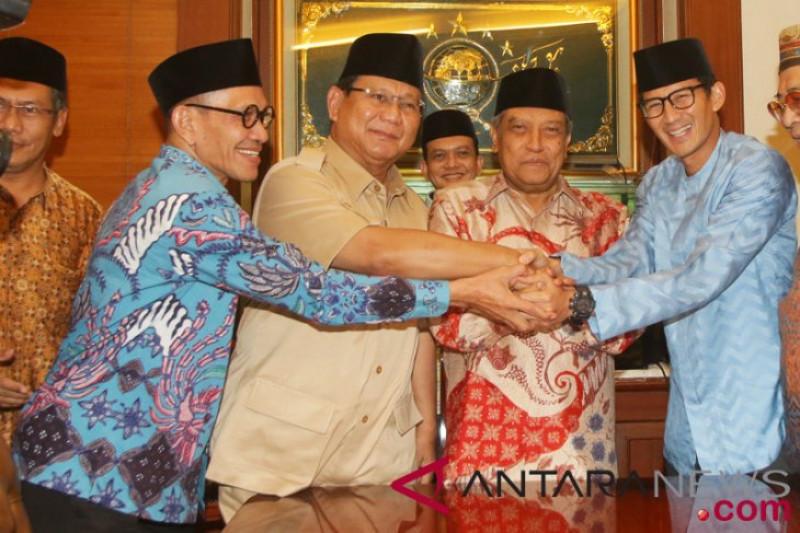 Prabowo Mengunjungi PBNU