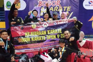 Karateka Inkai Timah juarai open turnamen nasional