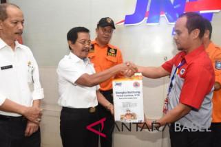 Wagub Babel lepas pengiriman bantuan korban Lombok