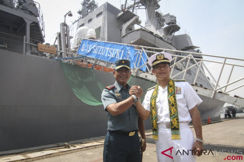 Kunjungan Kapal Perang Jepang