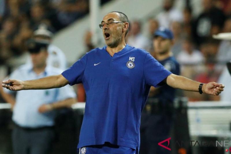 Maurizio Sarri: Butuh setahun untuk samai level Liverpool