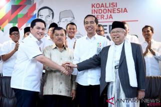 Tim Jokowi-Ma'ruf menyusun jadwal kampanye