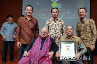 MTI Babel raih penghargaan MURI sebagai museum timah pertama di Asia