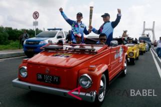 Asian Para Games torch arrives in Bangka Belitung
