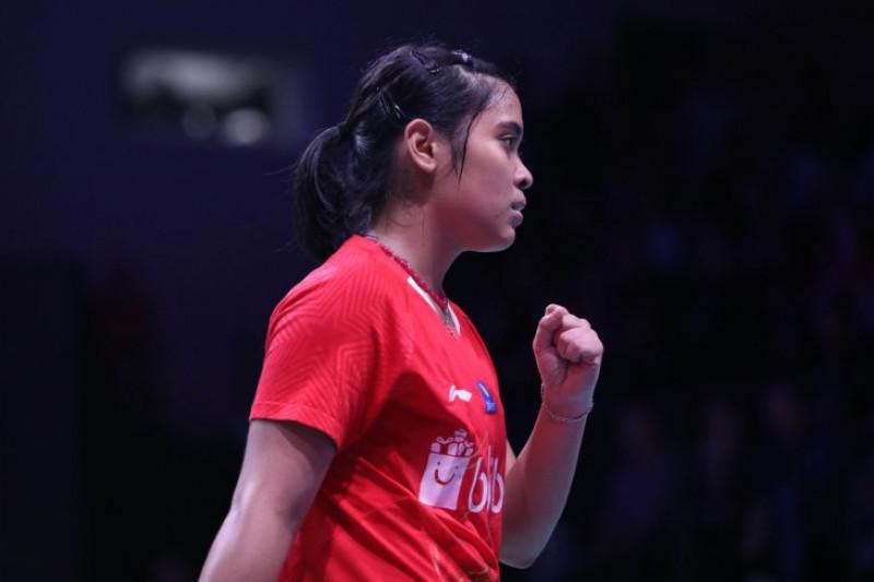 Gregoria Mariska tembus semifinal Denmark Terbuka 2018