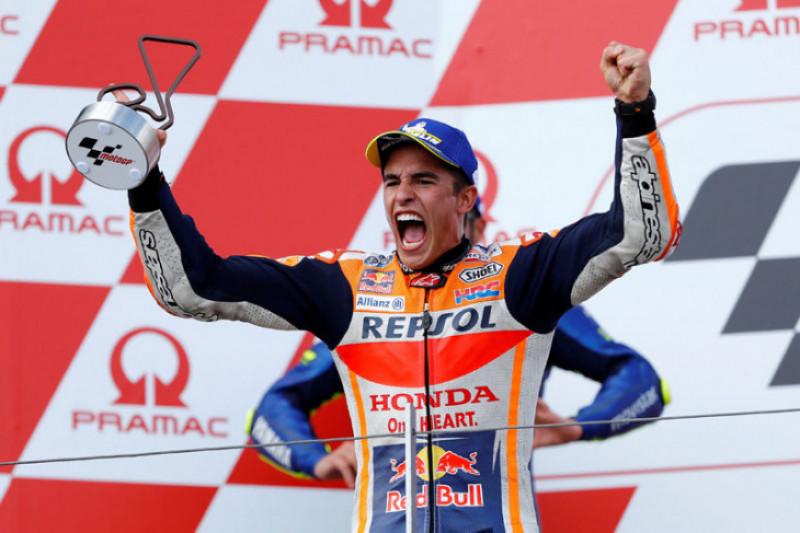 Marc Marquez pastikan gelar juara dunia MotoGP
