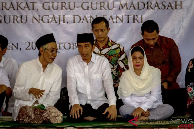 Presiden Jokowi di Semarang