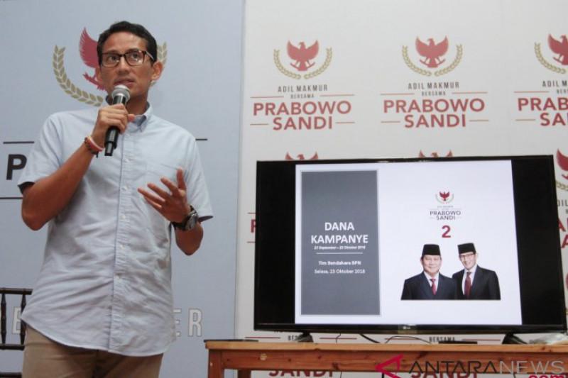 Publikasi Dana Kampanye Prabowo - Sandi