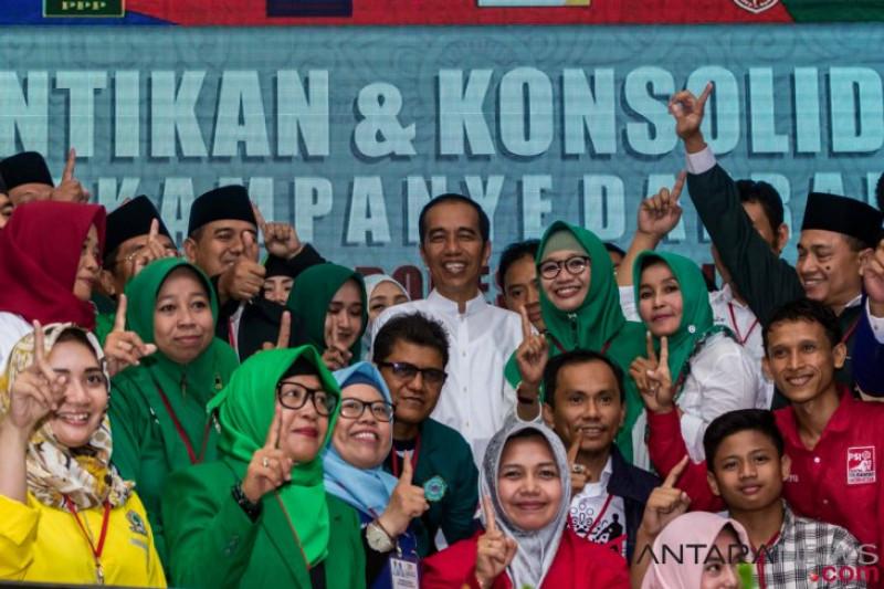 Target TKD Jokowi-Ma'ruf Amin di Jateng