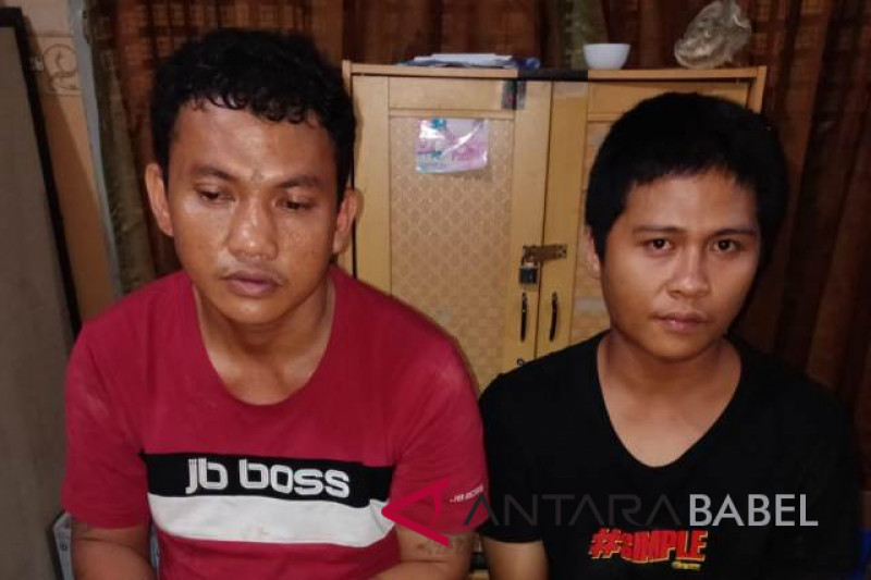 Police arrest two drug trafickers in Pangkalpinang
