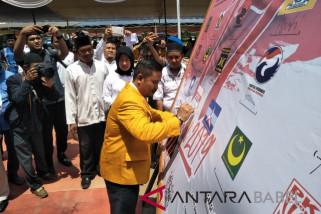 KPU-Polres Bangka Selatan deklarasi pemilu damai