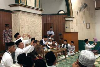 Maruf Amin silaturahmi ke Ponpes Miftahul Huda Tasikmalaya