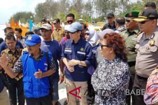 Menteri Susi: nelayan Belitung Timur dapat usir tambang ilegal