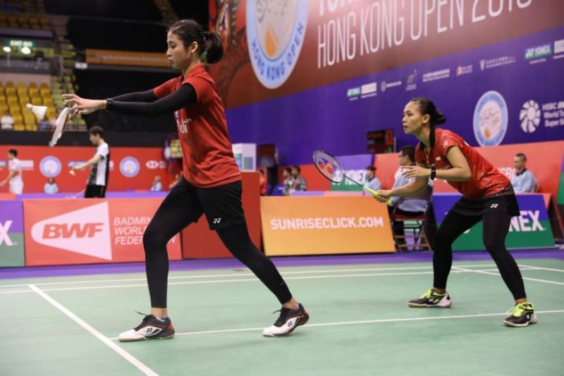 Dua ganda putri melaju ke perempat final Hong Kong Terbuka