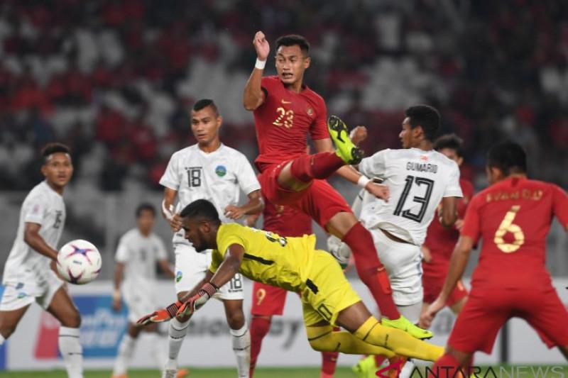 Timnas Indonesia berhasil taklukkan Timor Leste 3-1