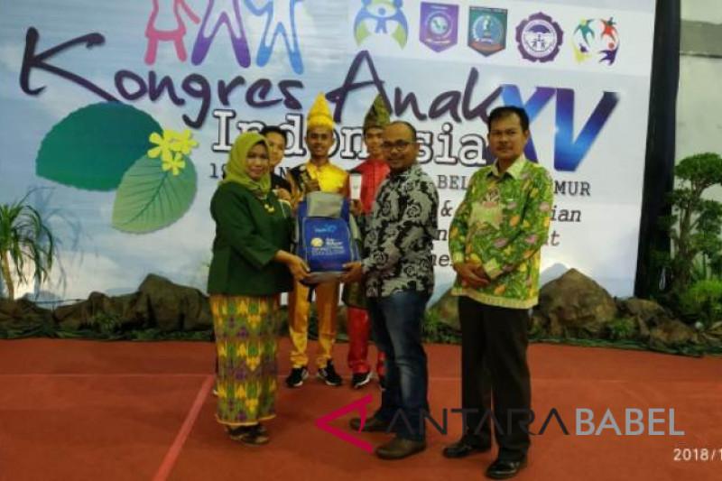 PT Timah bantu Kongres Anak Indonesia XV di Belitung Timur