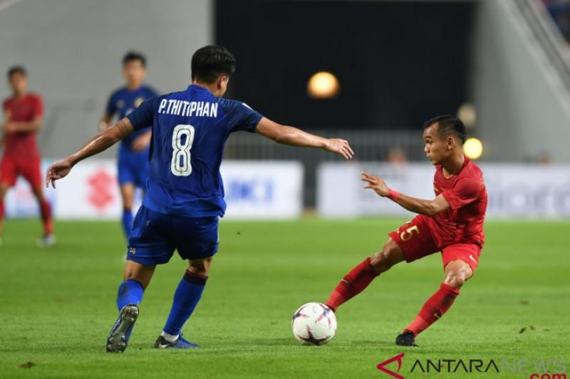 Timnas Indonesia kembali harus takluk 2-4 dari Thailand