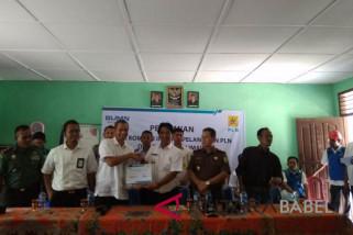 Penduduk Pulau Buku Limau telah gunakan kompor listrik