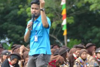 BNNK Bangka sosialisasi bahaya narkoba ke peserta Perata-PW