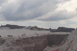 Pemerintah minta aktivitas tambang pasir Sungaiselan dihentikan
