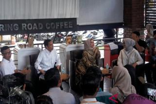 Jokowi dialog dengan pengusaha kreatif di Aceh
