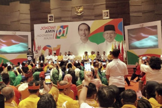 Joko Widodo hadiri raker Tim Kampanye Daerah Riau