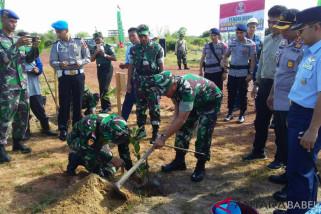 Peringati Hari Juang Kartika, Kodim 0414 Belitung tanam 1.000 pohon