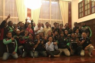 Prabowo akan dibonceng motor hadiri