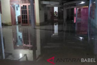 Sejumlah rumah warga Bangka kebanjiran