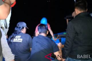 Tim gabungan berhasil selamatkan nelayan di perairan Sungailiat